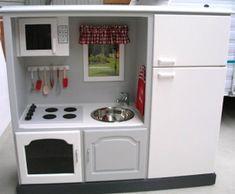 cuisine pour enfant dans un meuble TV (tuto gratuit DIY)