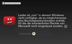 """Solltet ihr in eurer Mittagspause mal Zeit haben, dann probiert doch einfach mal Folgendes aus: Legt unter Windows einen Ordner mit dem Namen """"con"""" an und schaut, was passiert. Dazu sagen wir: """"Windows con nix!"""" ;-)"""