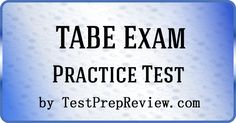 photo about Tabe Practice Test Free Printable identified as TABE Look at Investigation Marketing consultant