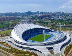 Stadium Architecture, Architecture Design, Football Stadiums, Real Madrid, Pavilion, Futuristic, Aud, Around The Worlds, Soccer