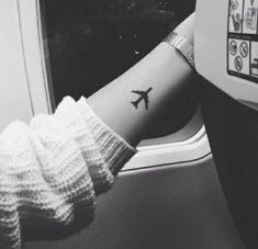 14 Travel Tattoos That Will Give You Wanderlust via Brit + Co