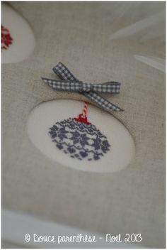 Boules de Noël - Douce parenthèse