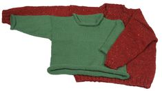 Momogus Knits Baby Pullover Sweater Knitting Pattern. Sweater fits great and is perfect for active kids.