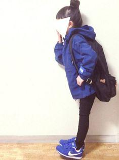 cyamu(͒⑅′࿉‵⑅)͒ෆ*さんのコーディネート Ootd Teen, Kids Wardrobe, Girl Fashion, Womens Fashion, My Princess, Little People, Kids Girls, Korean Fashion, Fashion Backpack