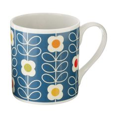 Orla Kiely   Microwave / Dishwasher Safe  These mugs are designed and made in the UK.    **Please Note:  Mugs cannot be returned or exchanged.