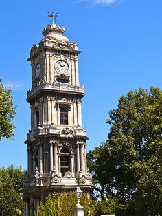 http://commons.wikimedia.org/wiki/File:Turkey,_Istanbul,_Dolmabah%C3%A7e_Clock_Tower.jpg
