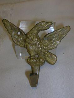 Eagle Coat Hook Wall Hook  DIY Project Coat Racket Hook Hardware Brass/Bronze #NotMarked