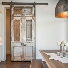 love this door but would use it as internal slider not barn door
