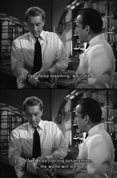 Casablanca Hollywood Fashion, Classic Hollywood, Casablanca 1942, Stop Fighting, Himym, Golden Age Of Hollywood, Film Industry, New Girl, The Dreamers
