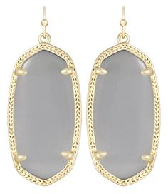 #Kendra designed this wonderful sister earring, Elle, to the legendary Danielle earring. It adds a pop of color in a petite way. As Kendra Scott states, This bit...