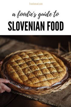 Foodie Travel 401735229260744007 - This Slovenian food guide shows you what to eat in Slovenia, what's typical, and how over 20 unique gastronomy regions are changing the way you'll look at traditional Slovenian food! Source by Travlinmad Slovenian Food, Tasty, Yummy Food, Delicious Meals, Best Street Food, Mouth Watering Food, International Recipes, Foodie Travel, Food Inspiration