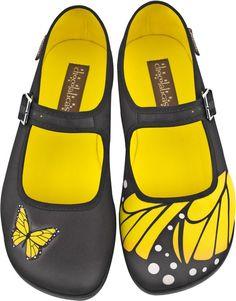 Hot Chocolate Shoes - Butterfly Flats - Buy Online Australia Beserk