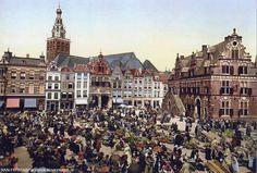 Nijmegen Grote markt (lang geleden)