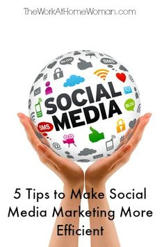 There's nothing wrong with using social media for fun. However, if your goal is to maximize your work time and get more done, you have to learn to use social media efficiently. Here are five quick tips to get started.