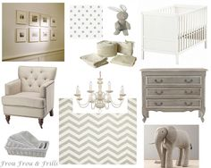 Little boy nursery or gender neutral nursery