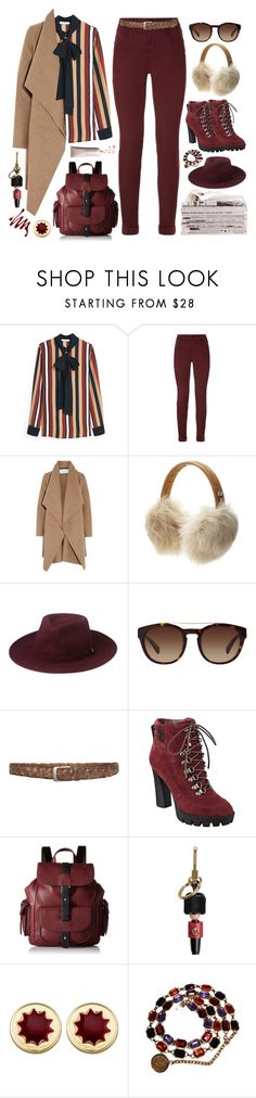 """27.10.17-2"" by malenafashion27 ❤ liked on Polyvore featuring MANGO, J Brand, Harris Wharf London, UGG Australia, Whistles, Dolce&Gabbana, Nine West, Kenneth Cole Reaction, Burberry and House of Harlow 1960"