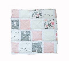 We are a mother & daughter duo from Manitoba, making precious modernistic baby bedding & accessories for little babes! Rag Quilt, Quilts, Keepsake Quilting, Blanket, Bed, Handmade, Hand Made, Stream Bed, Quilt Sets