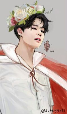 Can i uhh... Prince kai fanart (but also its park jimin)