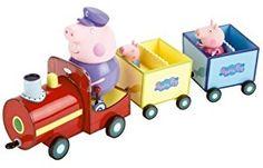 Peppa Pig Grandpa Pigs Train Vehicle