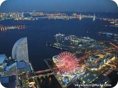 View from the observation deck of the Landmark Tower (Yokohama, Japan)