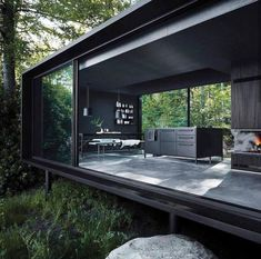 'Minimal Interior Design Inspiration' is a weekly showcase of some of the most perfectly minimal interior design examples that we've found around the web - all Modern Home Design, Best Interior Design, Modern Homes, Interior Design Inspiration, Design Ideas, Interior Ideas, Bathroom Inspiration, Container Home Designs, Container Homes