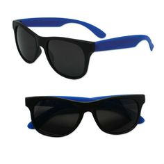 Adult Size Black and Blue Sunglasses Case Pack 300