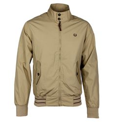Fred Perry Desert Sands Paper Touch Harrington Jacket