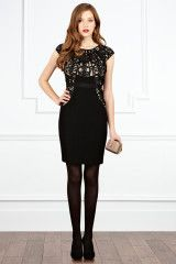 Coast Alicia Dress in Black - Lyst