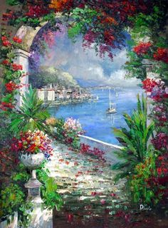 Oil Painting On Canvas, Painting & Drawing, Painting Videos, Painting Lessons, Canvas Art, Canvas Prints, Landscape Art, Landscape Paintings, Oil Paintings