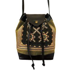 The Sirii is a great every day draw string cross body bag. Accompanied by leather trimmings, the Sirii is constructed from hand made hill tribe textiles. Boho Gypsy, Fair Trade, Cross Body, Crossbody Bag, Textiles, Draw, Store, Projects, Pattern
