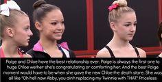 Bad word but true Dance Moms Memes, Dance Moms Funny, Dance Moms Facts, Dance Moms Girls, Chloe And Paige, Dance Moms Confessions, Paige Hyland, Chloe Lukasiak, Show Dance