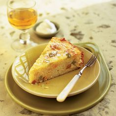 An Italian-style torta di riso cake recipe inspired by the British love of rice pudding.