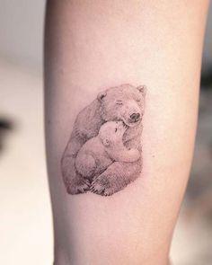 Best butterfly tattoo design idea – Page 13 – Kornelia Nowak tattoos Baby Bear Tattoo, Teddy Bear Tattoos, Polar Bear Tattoo, Tattoo Mama, Mommy Tattoos, Cute Girl Tattoos, Tattoo For Son, Family Tattoos, Tattoos For Daughters