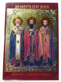 Prayer to three the holy Hierarchs #icon #orthodox #pocket icon