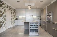 Clean, sleek, modern kitchen