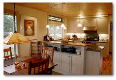 Ross Chapin kitchen.