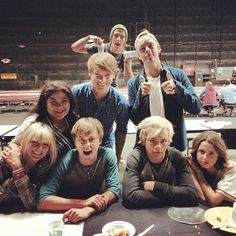 Day 29: I would hang out on the set of Austin & Ally on a friday because every friday R5 visits the set!! :)