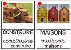 """Imagier des """"Trois petits cochons"""" Petite Section, French Immersion, Three Little Pigs, Teaching French, Shed, Construction, School, Projects, Diy"""