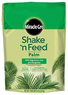 MiracleGro 1007021 Shake n Feed Continuous Release Palm Plant Food 4 Pack 8 lb * For more information, visit image link.
