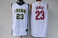 http://www.yjersey.com/nba-cleveland-cavaliers-irish-high-school-23-james-mixture-jerseys.html #NBA CLEVELAND #CAVALIERS IRISH HIGH SCHOOL 23 JAMES MIXTURE JERSEYSOnly$38.00  Free Shipping!