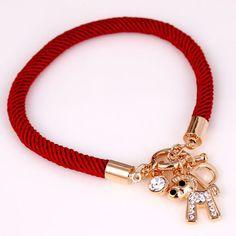 Pulseras de cordón de nylon, http://www.beads.us/es/producto/Pulseras-de-cordon-de-nylon_p136802.html?Utm_rid=163955