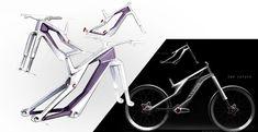 Canyon presenta su nueva suspensión por magnetismo y su frenado electrónico [concepto] - Bike T3CH Bicycle Sketch, E Bicycle, Wooden Bicycle, Bicycle Shop, Velo Design, Bicycle Design, Bicycle Wall Mount, Electronic Bike, Urban Concept