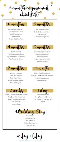 Are you planning a short engagement? Here is a helpful checklist / timeline to h. - Are you planning a short engagement? Here is a helpful checklist / timeline to help you kick start - The Plan, How To Plan, Wedding Checklist Timeline, Wedding Timeline, Engagement Timeline, Printable Wedding Planning Checklist, Wedding Checklists, Bridesmaid Checklist, Announcing Engagement