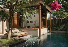Luxurious Interior Design of Elysian Boutique Villa Hotel on Bali - Living Room