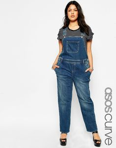 Shop for plus size jumpsuits and rompers at ASOS. From plus size all in ones to beachwear & rompers with ASOS Curve. Overalls Plus Size, Plus Size Jumpsuit, Asos Curve, Plus Size Casual, Plus Size Outfits, Festival Outfits, Festival Fashion, Plus Size Kleidung, Denim Romper