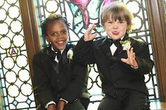 tips for kids in weddings