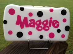 Diaper Wipe Case Personalized by sonshinestudios on Etsy
