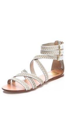 Dolce Vita flat sandals - Scent of Greece :)