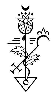 Botanical Alchemy Sigils: opium_poppy