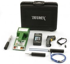 Tramex RIK5.1 Roof Inspection Kit Moisture Survey Meter  Tramex RIK5.1 is a non destructive, moisture survey kit for roofing professionals.  The RIK5.1 allows for point of contact, non destructive moisture condition surveys in roofing & waterproofing systems that have a 4 inch maximum depth. Non-destructive moisture condition measurements for wood decks, concrete decks & ambient (RH) relative humidity and dew point conditions.